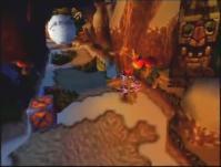 雪玉スライディン