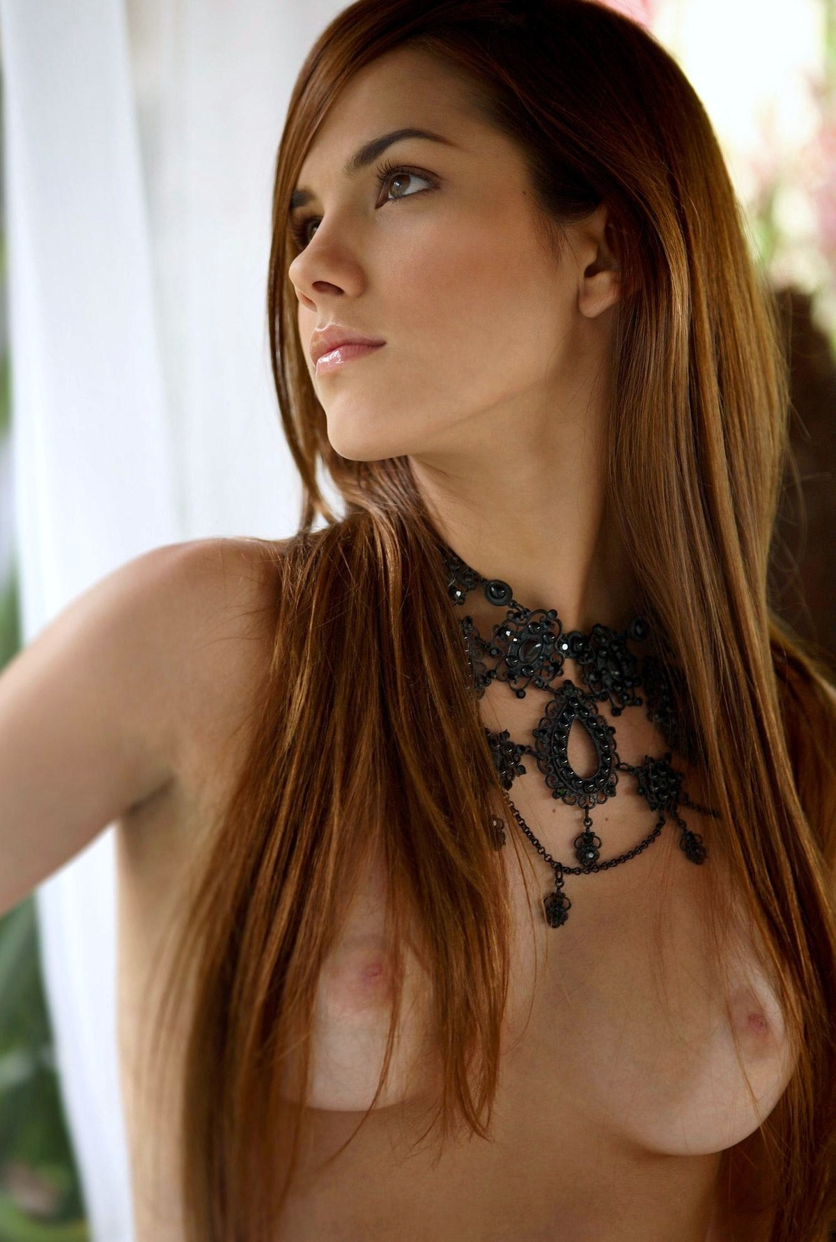 Opinion Hot brunette nude green eyes for