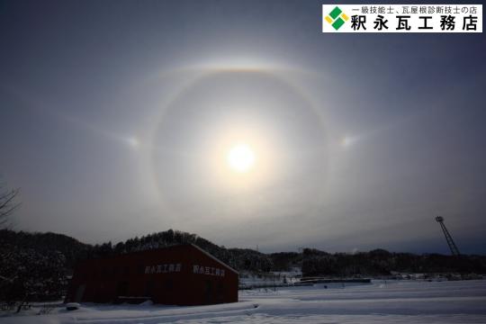 太陽の虹、日暈、幻日環、上部ラテラルアーク(パリーアーク