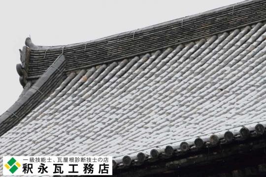 東寺講堂 入母屋造 本瓦葺 03