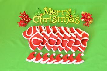 サンタ服、写真は生後9日目に、12月20日2012年、 シャーペイ仔犬 (40)