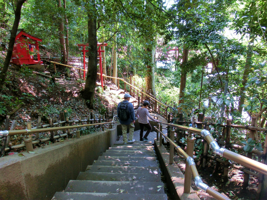 スリリングな階段