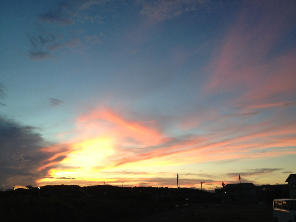 20120821夕焼け2