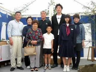 加賀・新保町地鎮祭
