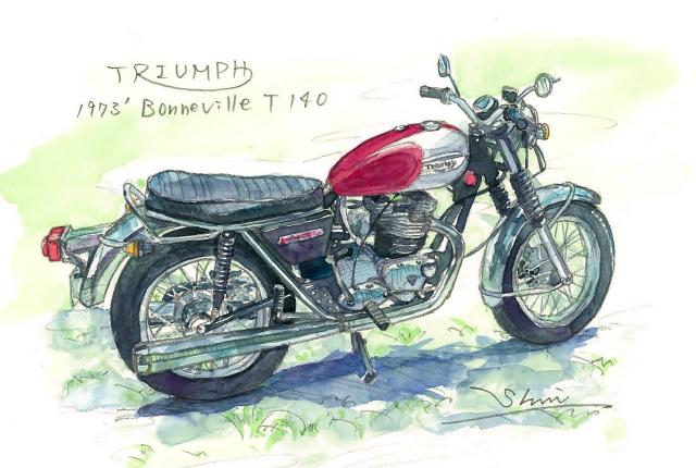 T140 Bonneville