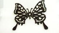 蝶のモチーフ