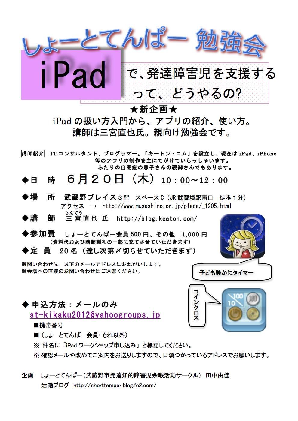 iPadチラシ