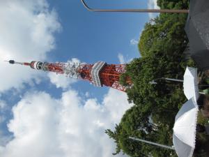 東京タワー全景