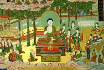 祇園精舎での説法