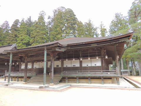 高野山拝殿