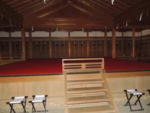 天河神社神楽舞台