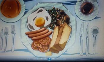 人類は衰退しました 朝食