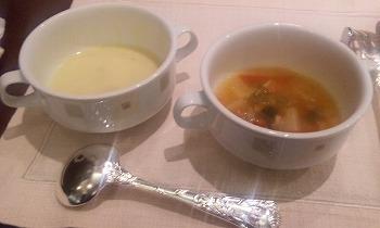 帝国ホテル スープ二種