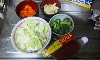 野菜スープ 材料