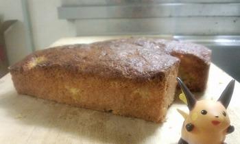 バウンドケーキ 完成 ライチュウ可愛い