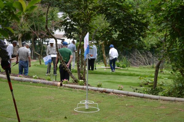 順延のゴルフ
