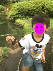 ザリガニ釣り 2