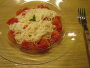 冷製トマトの素麺