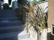 玄関アプローチ 植栽剪定 ビフォー