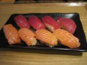 息子作 握り寿司