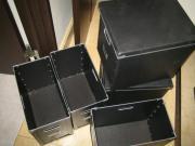 空になった黒BOX