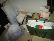 今回出た処分品とゴミ