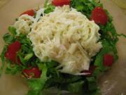 大根と帆立のサラダ