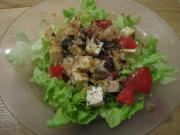 豆腐とトマトと鰹節サラダ