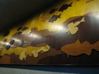 葛西臨海水族館 壁オブジェ