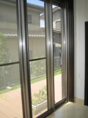 窓拭き 1階