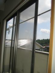 窓拭き 2階