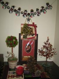 クリスマス 玄関飾り