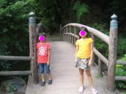 白根神社 橋