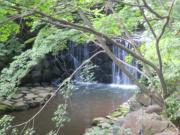 白根神社 滝