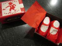 赤い靴チョコ