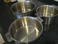 重曹で鍋磨き