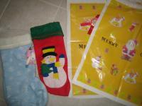 クリスマス ブーツ・袋