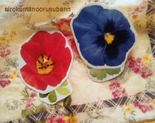 手紙お花カード3