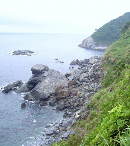 沼島の裏海岸
