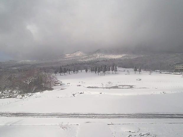 2012年11月14日 伯耆大山で積雪