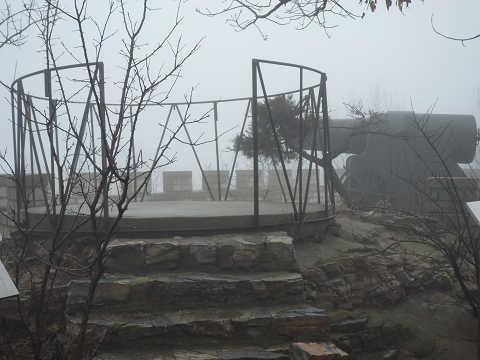 280ミリメートル砲と観測所
