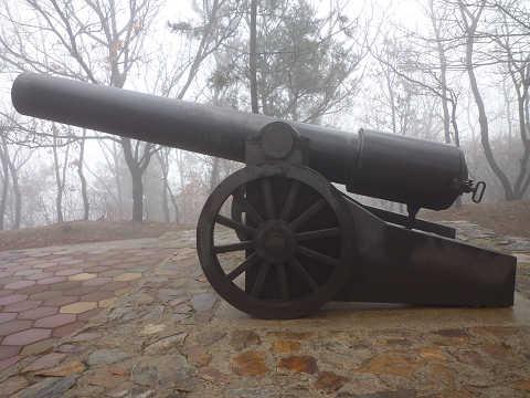 ロシア軍大砲