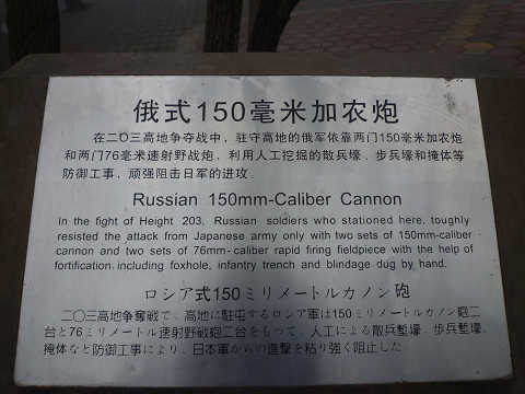 ロシア軍大砲説明