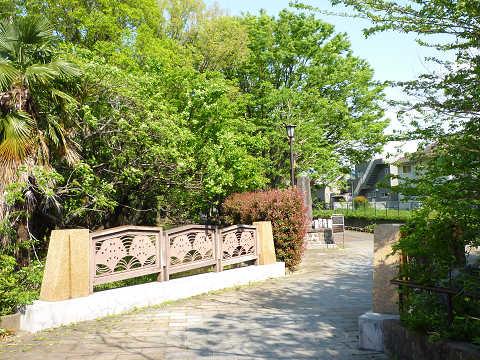 分倍橋と欅(けやき)