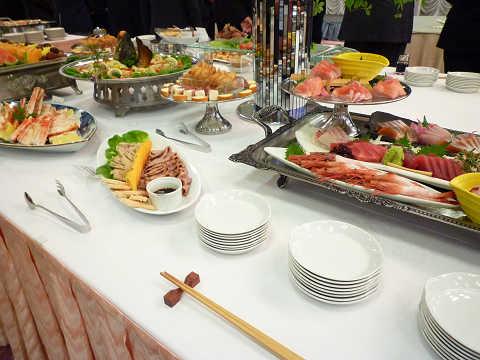 懇親会料理(立食パーティー)