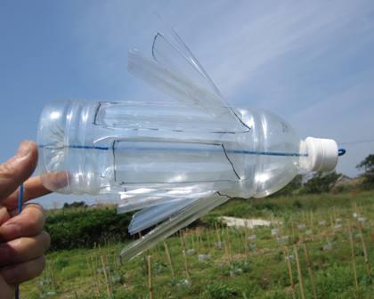 ペットボトル風車 (3)