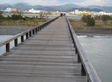 蓬莱橋 世界一長い木製橋