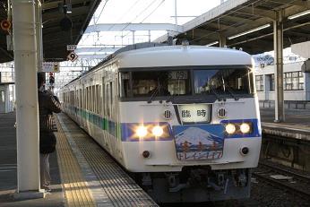 富士山トレイン117 静岡