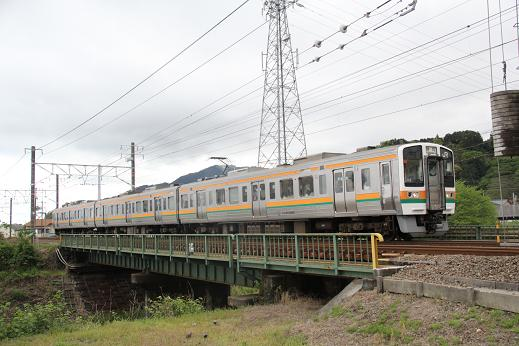 安倍川211系