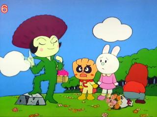 クリームパンダとあざみちゃん